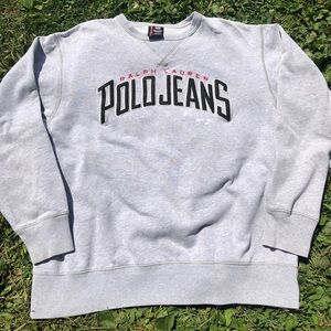 Ralph Lauren Polo Jeans Crewneck